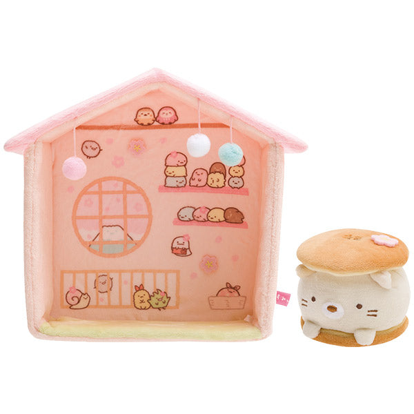 Sumikko Gurashi Neko Cat Daifuku Plush Doll House Japanese style San-X Japan