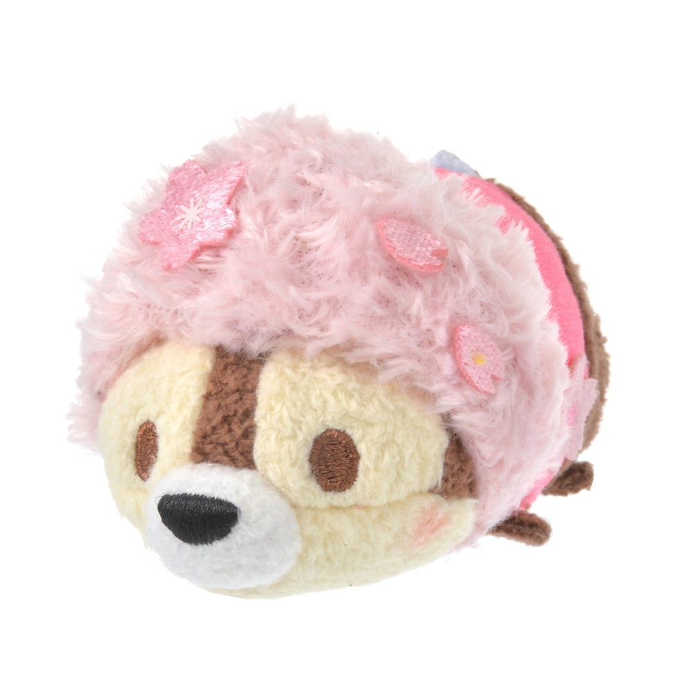 Chip Tsum Tsum Plush Doll mini S Disney Store Japan Sakura 2021