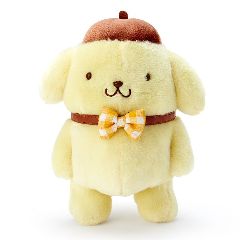 Pom Pom Purin Posing Plush Doll Winter Sanrio Japan