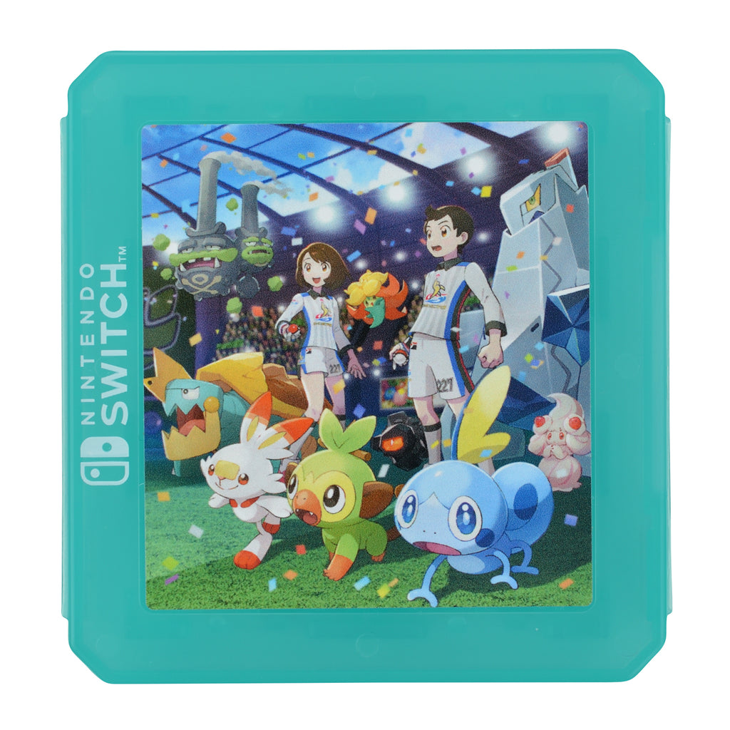 Card Case 12 for Nintendo Switch THE GALAR POKEMON LEAGUE!! Sword Shield Japan