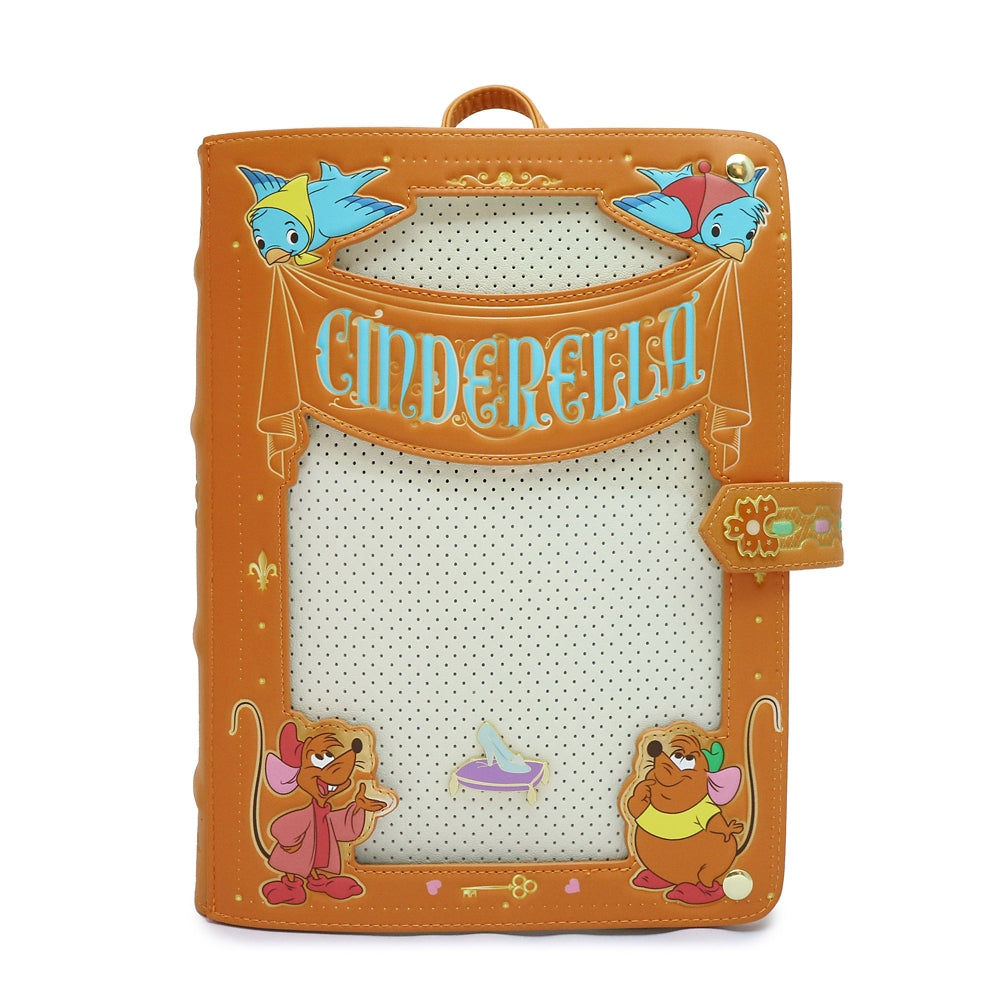 Cinderella Jaq Blue Bird Backpack Loungefly Disney Store Japan