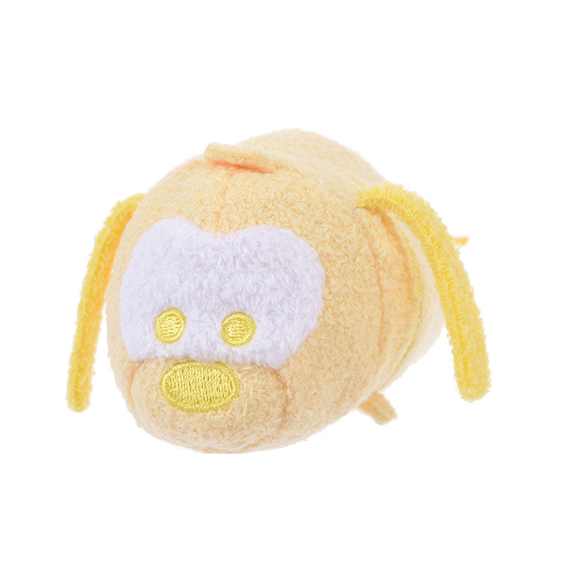 Pluto Tsum Tsum Plush Doll mini S Pastel Color Lemon Yellow Disney Store Japan