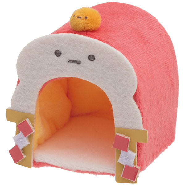 Sumikko Gurashi mini Tenori Plush Doll Kagami mochi House San-X Japan New Year