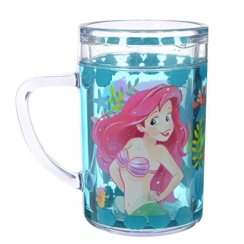 Ariel Flounder Sebastian Plastic Cup Disney Store Japan Little Mermaid