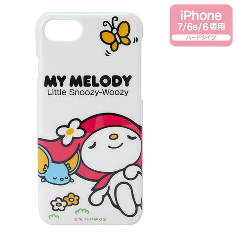My Melody iPhone 7 6s 6 Hard Case Cover Good Night Sanrio Japan