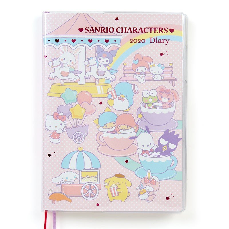 2020 Schedule Book B6 Weekly Block Sanrio Characters Sanrio Japan Diary