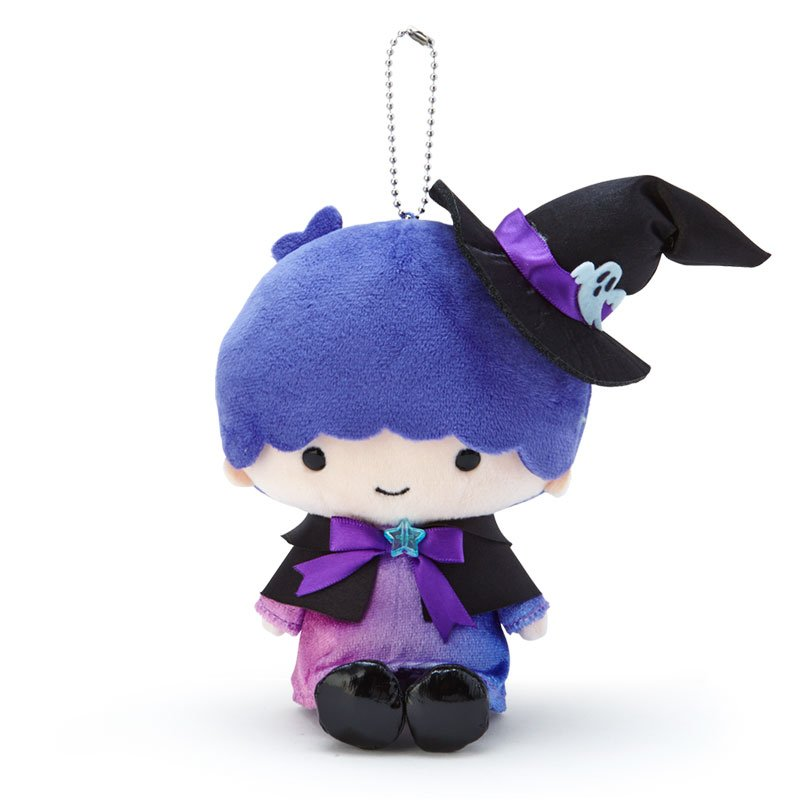 Little Twin Stars Kiki Plush Mascot Holder Keychain Sanrio Japan Halloween 2020