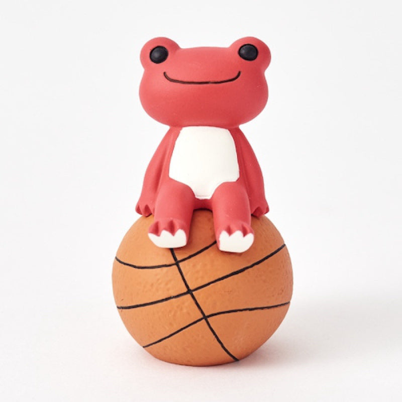 Pickles the Frog Figure Basketball Akane Red Japan