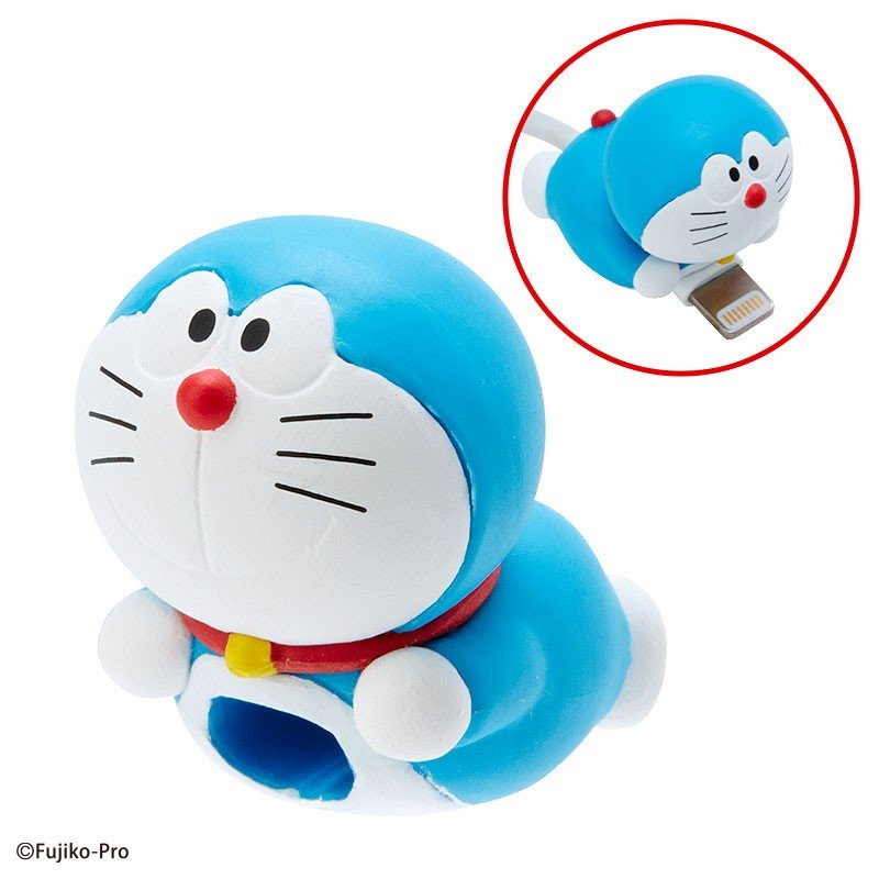 I'm DORAEMON CABLE BITE Cable Protection for iPhone Sanrio Japan