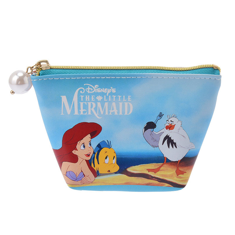 Little Mermaid Ariel Flounder Scuttle Pouch S Disney Store Japan