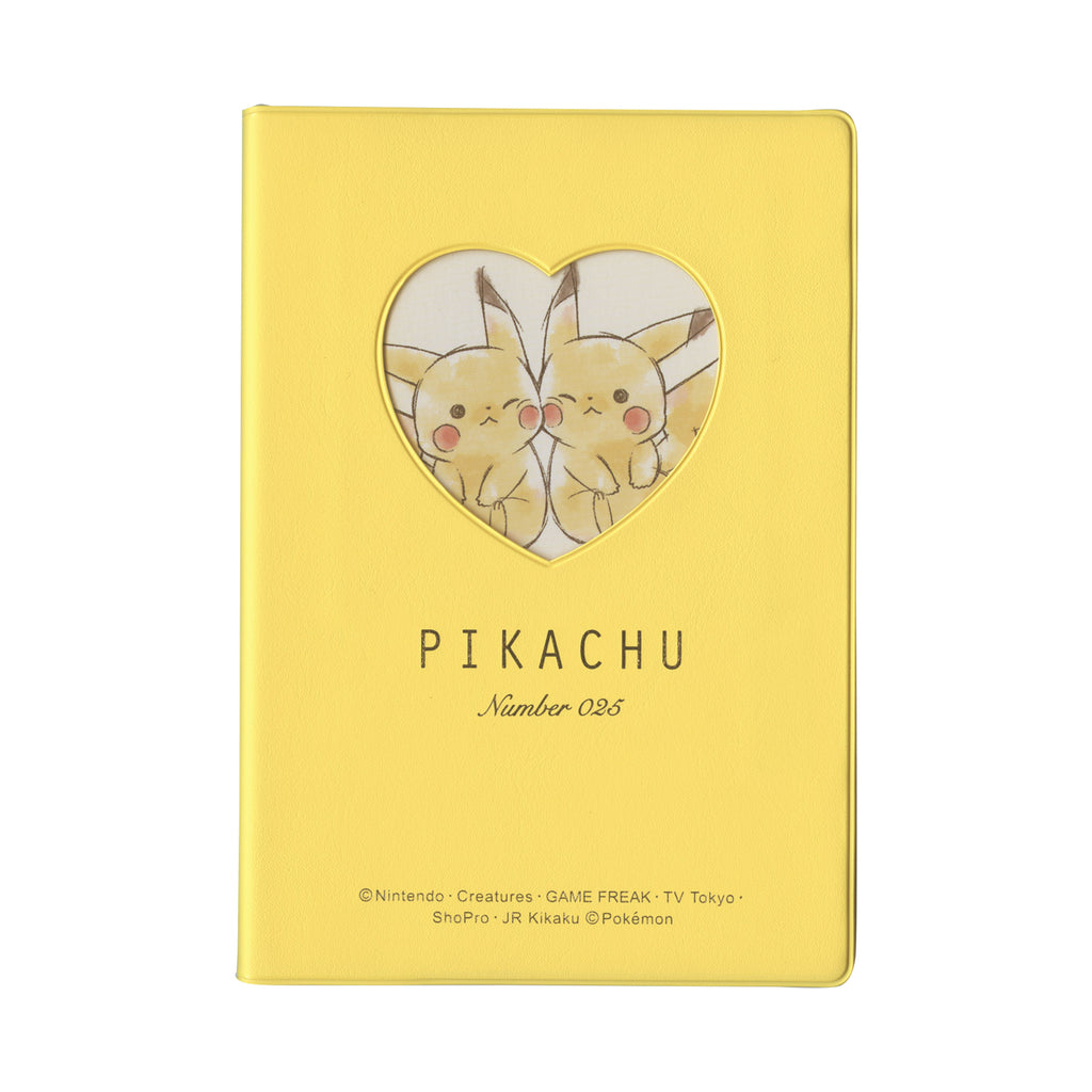 2020 Schedule Book B6 Monthly Heart Pikachu number025 Pokemon Center Japan