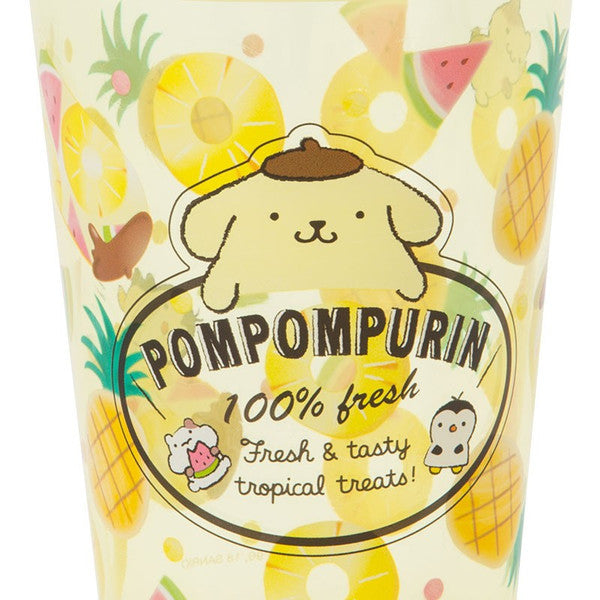 Pom Pom Purin Cup shape Pen Stand Fruit Sanrio Japan