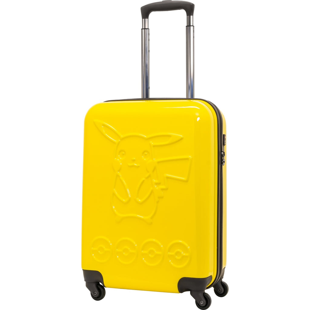 Carry Case Suitcase 33L PK-0755-48 Yellow Pokemon Center Japan