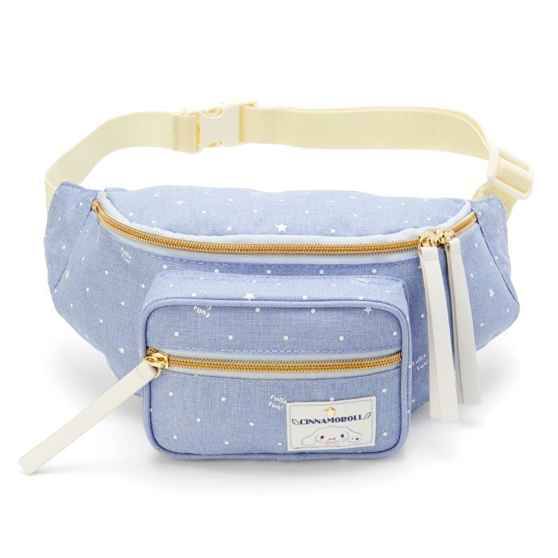 Cinnamoroll Waist Body Bag Dot Sanrio Japan