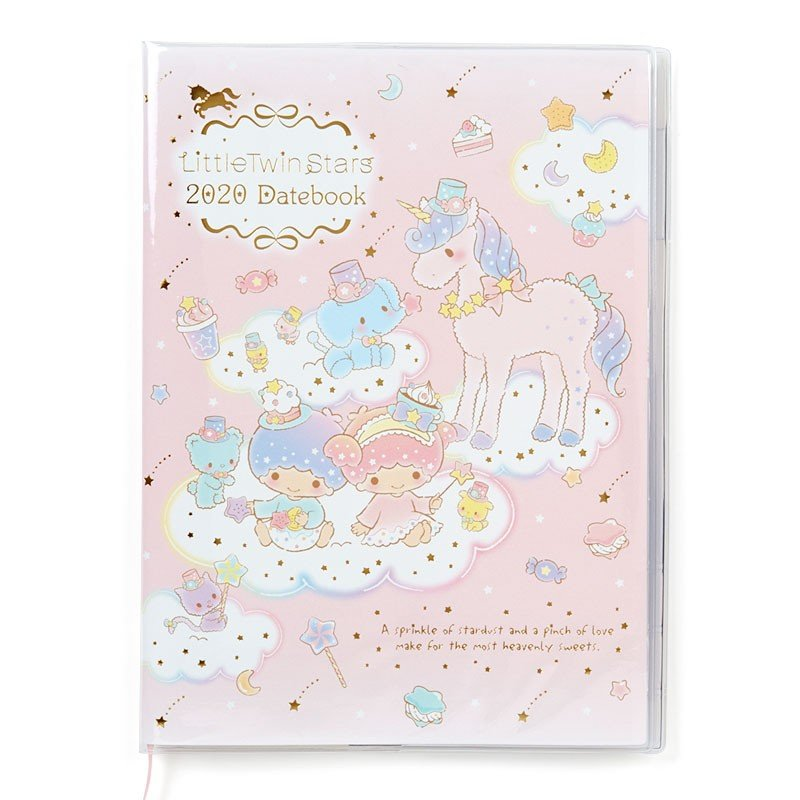 Little Twin Stars Kiki Lala 2020 Schedule Book Monthly A5 Sanrio Japan