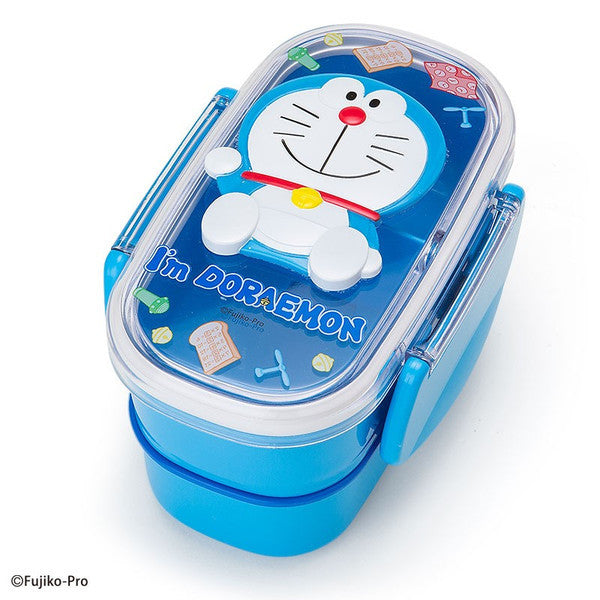 I'm DORAEMON 2stage Lunch Box Bento Relief Sanrio Japan