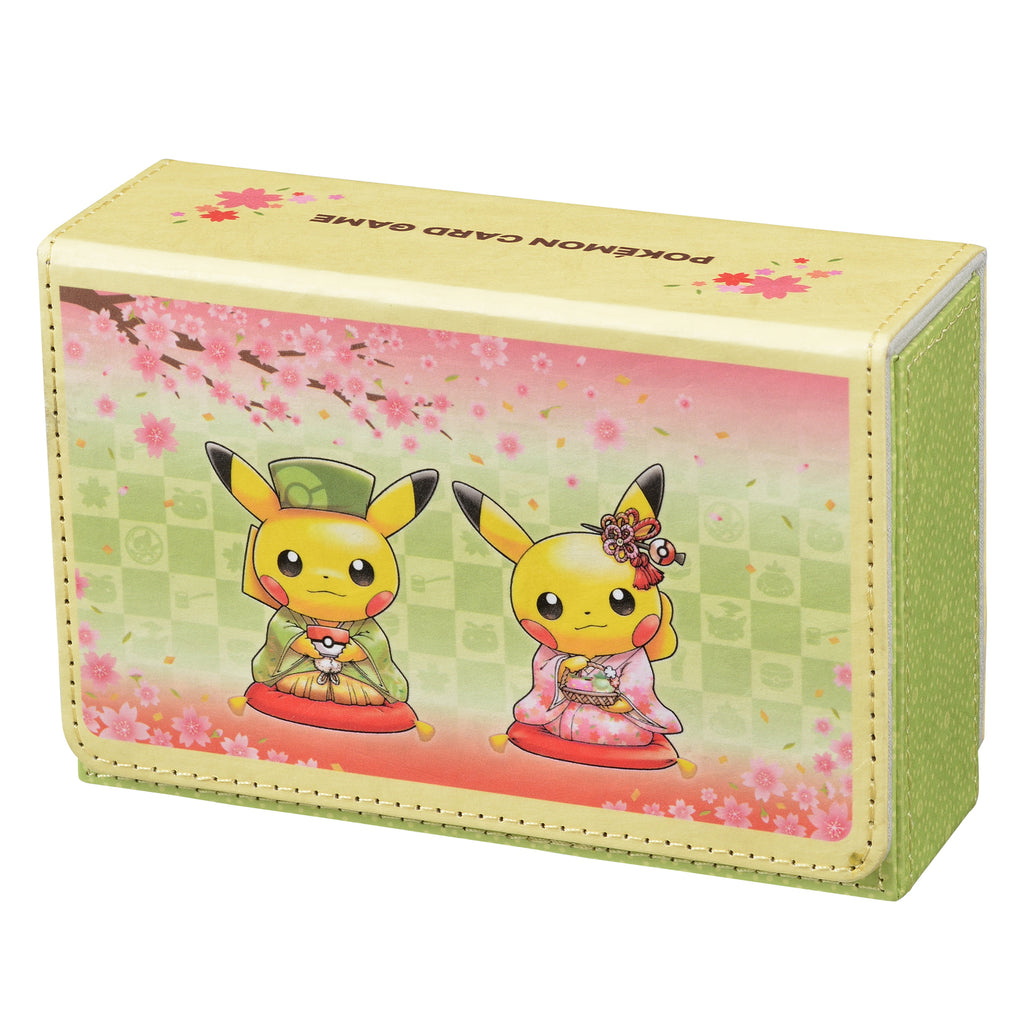 Pikachu Pokemon Card Game Double deck case Kyoto Renewal Open Japan