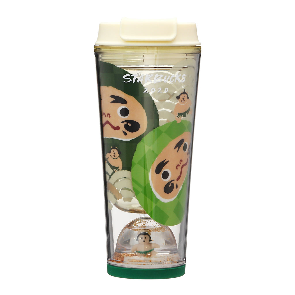 Starbucks Japan New Year 2020 Tumbler Snow Globe Daruma 355ml Limit