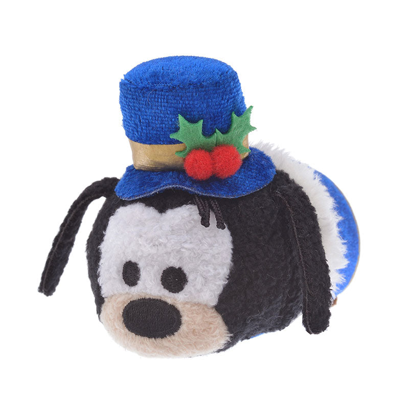 Goofy Tsum Tsum Plush Doll mini S Holly Disney Store Japan Christmas 2019