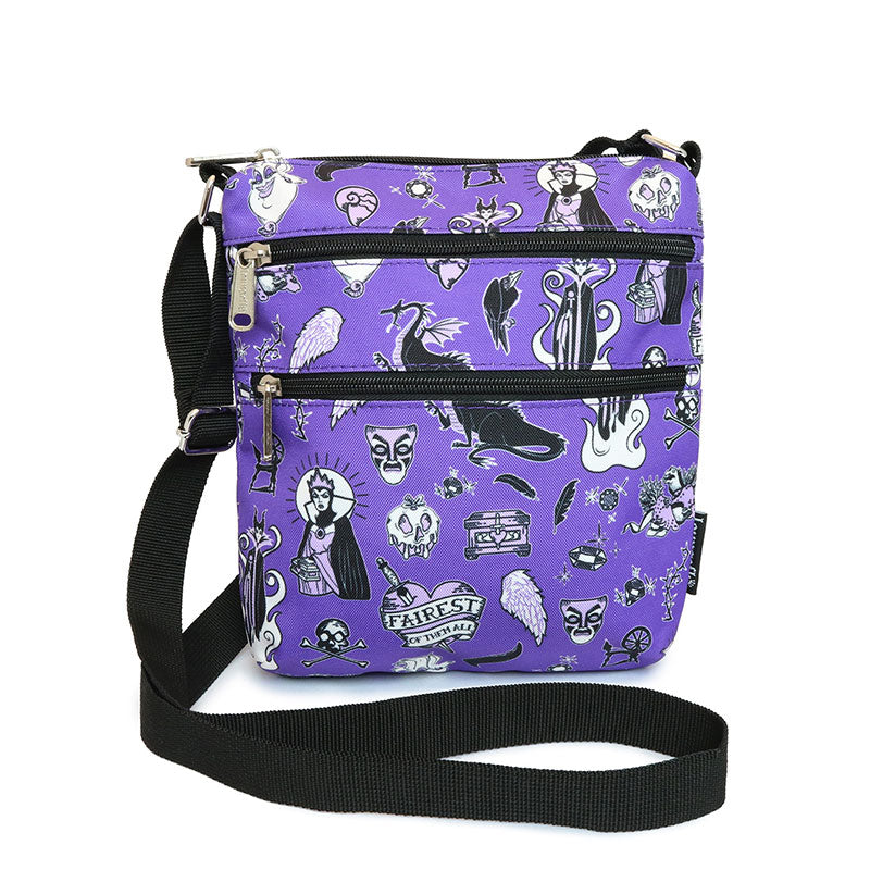 Disney Villains Shoulder Bag Violet Loungefly Disney Store Japan