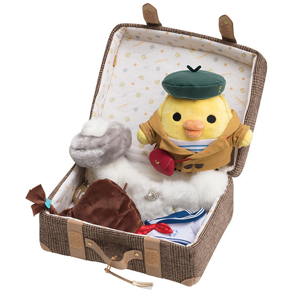 Kiiroitori Yellow Chick Costume for mini Plush Trunk Closet Set San-X Japan