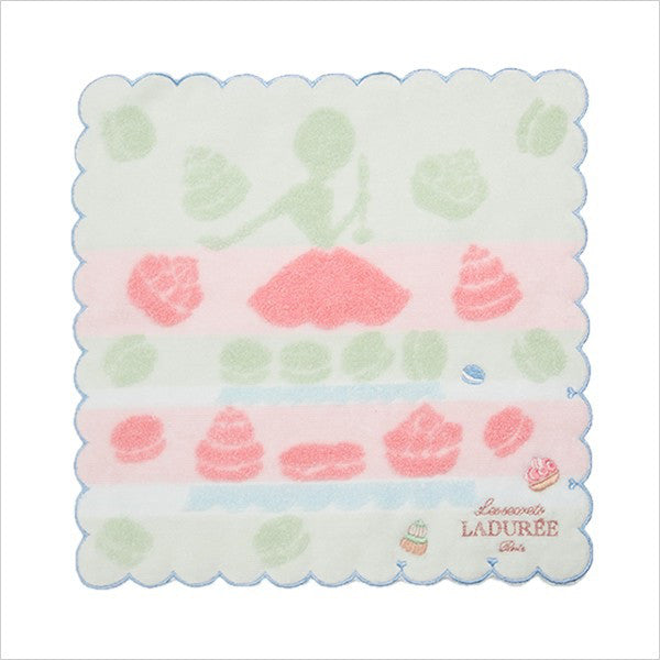 Towel Handkerchief Mint Eat Me Laduree Japan