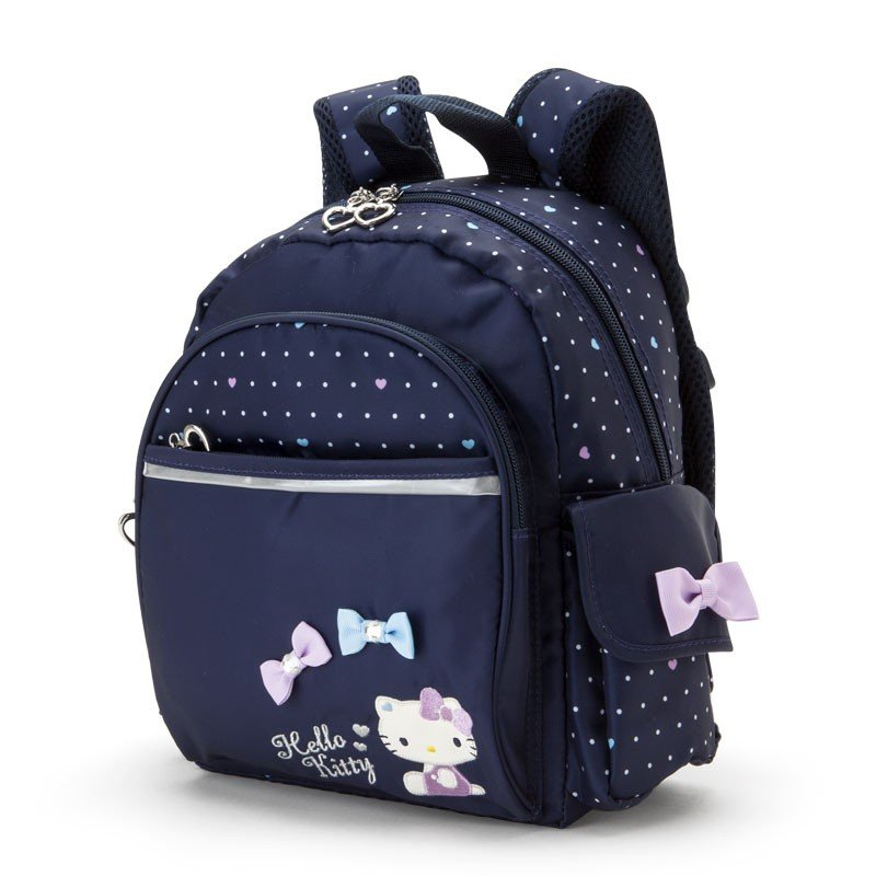 507dc64b0736 Hello Kitty Kids Backpack S Dot Navy Sanrio Japan