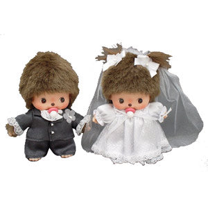 Bebichhichi Doll Wedding Set Monchhichi Japan With Box
