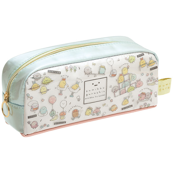 Sumikko Gurashi Pen Case Pencil Pouch minikko to asobo San-X Japan