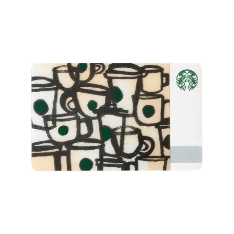 Gift Card Cups Starbucks Japan