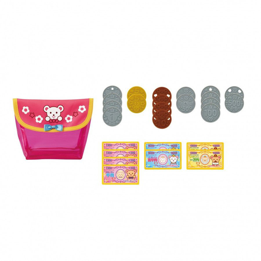 Mell Chan Money Set Pretend Play Toy Pilot Japan