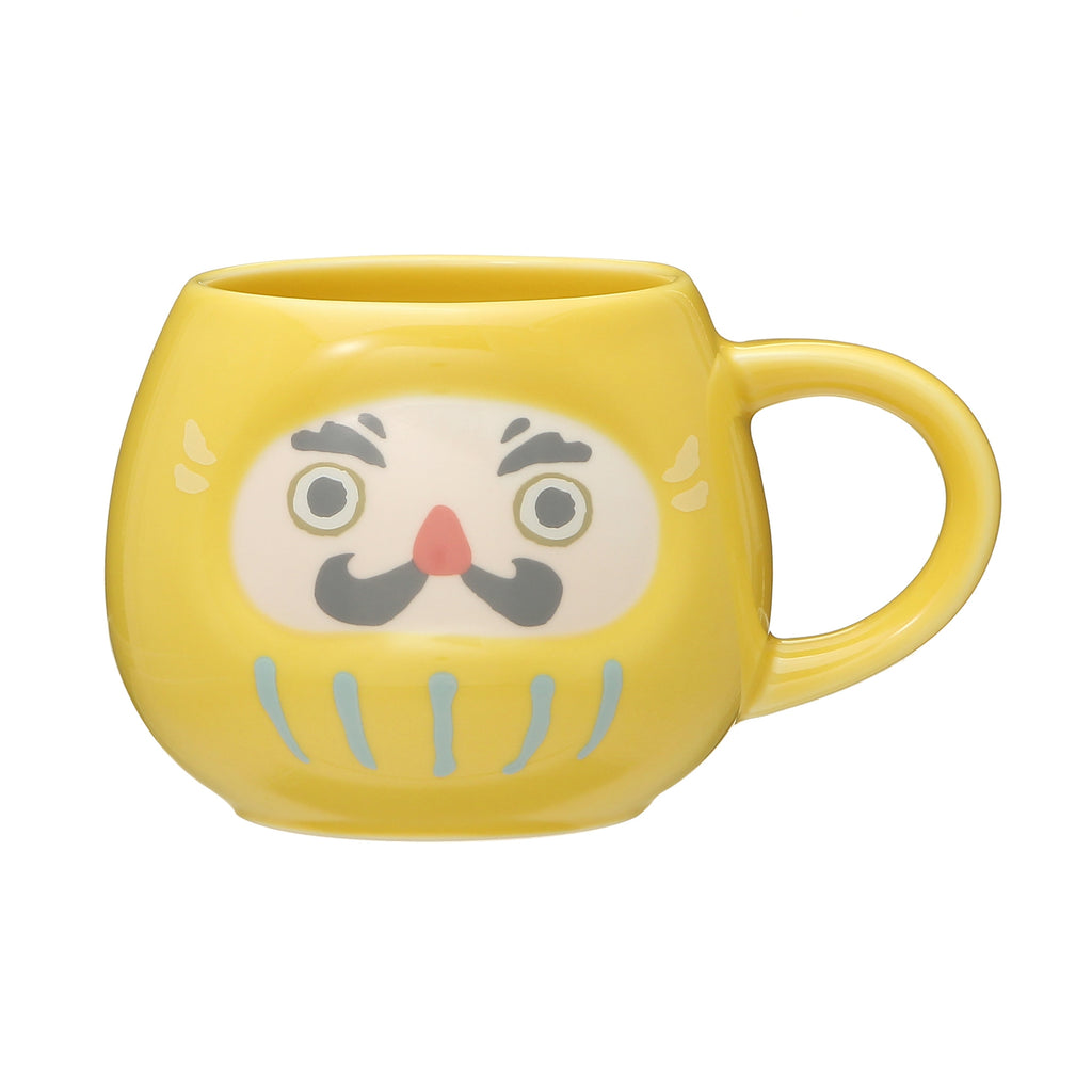 Mug Cup Daruma Yellow New Year 2021 Starbucks Japan