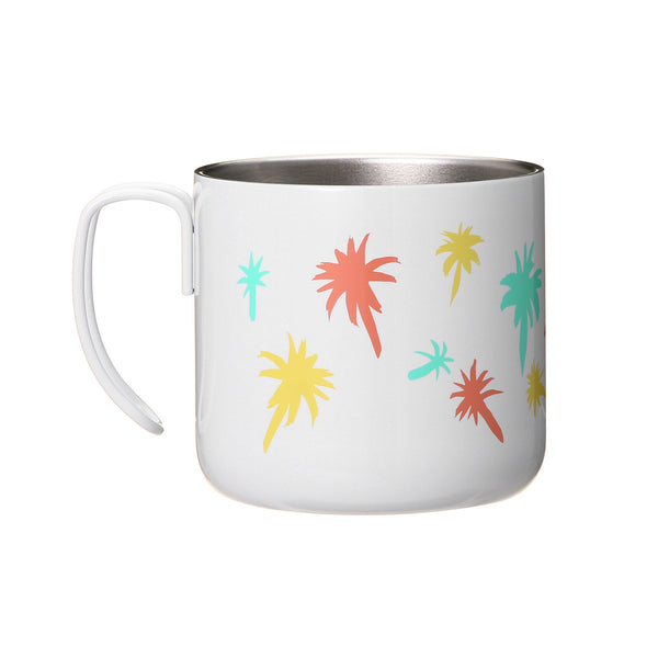 Stainless Mug Cup Colorful Palm 355ml Summer 2018 Starbucks Japan