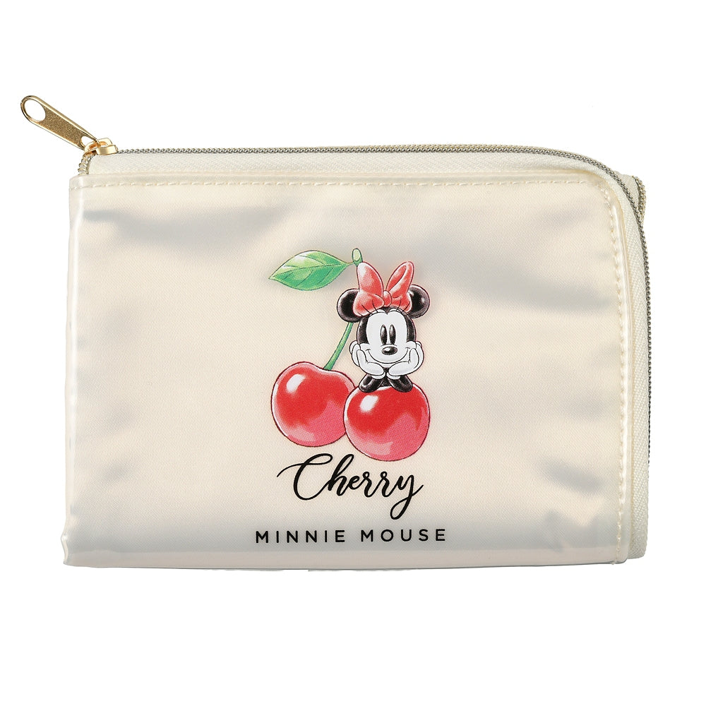 Minnie Mask Tissue Pouch CHERRY Disney Store Japan