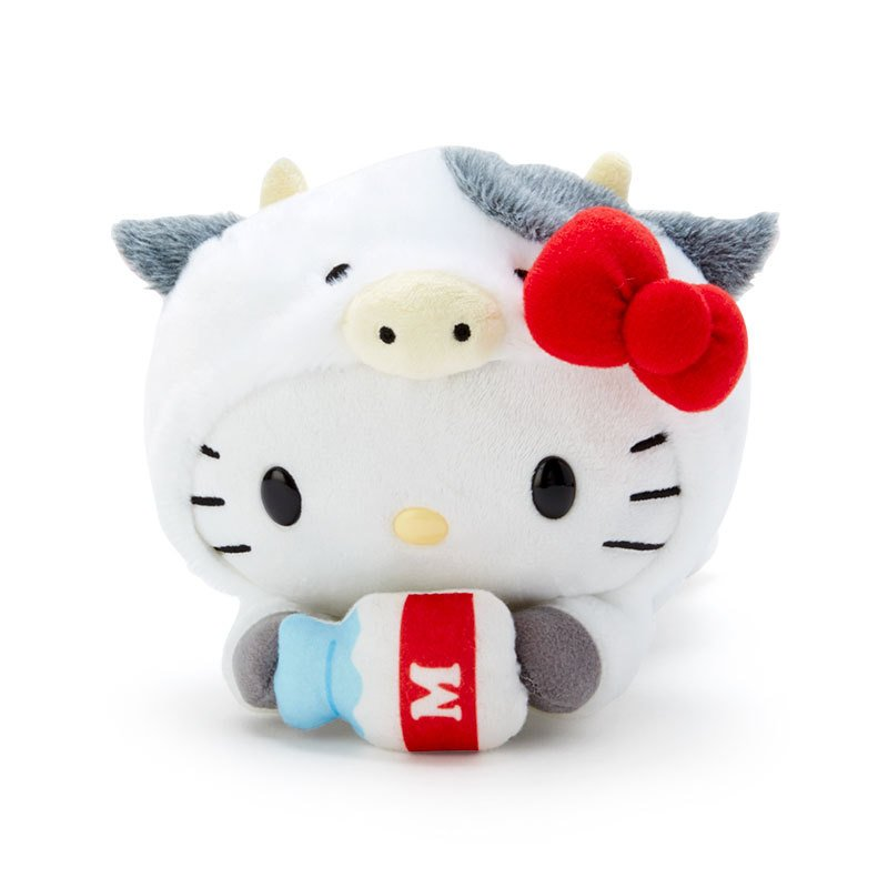 Hello Kitty Plush Doll Zodiac Cow Sanrio Japan New Year 2021