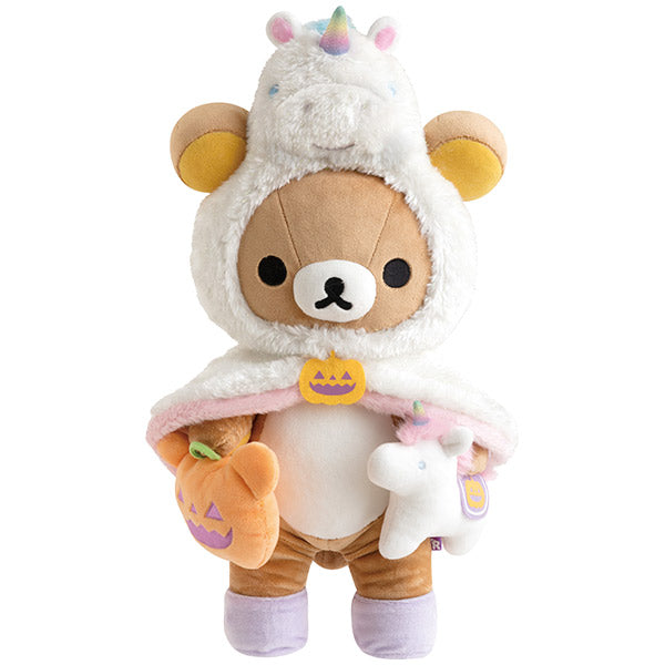Rilakkuma Plush Doll M Unicorn Halloween 2019 San-X Japan Limit