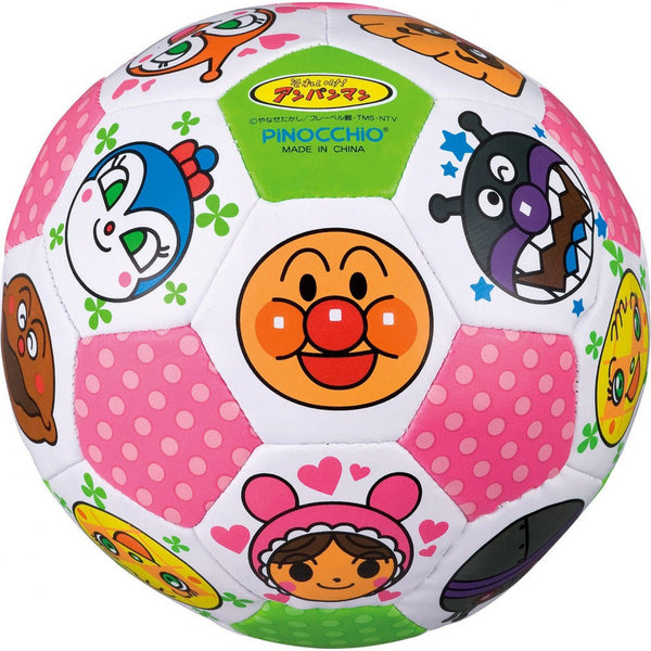 Anpanman Colorful Soccer Ball Japan Kids Toy