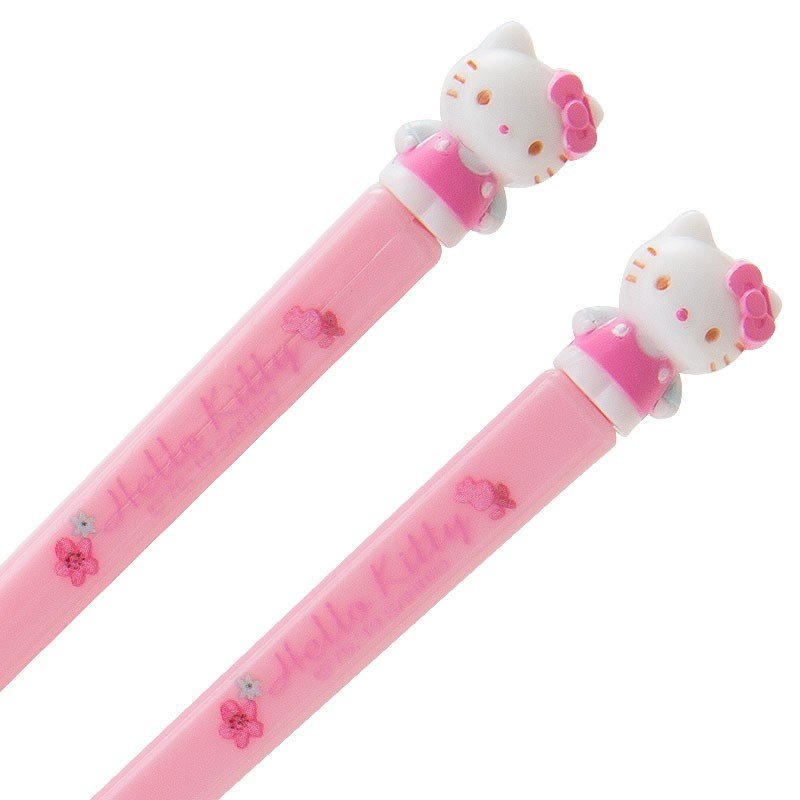 Hello Kitty Training Chopsticks Sanrio Japan Baby Feeding