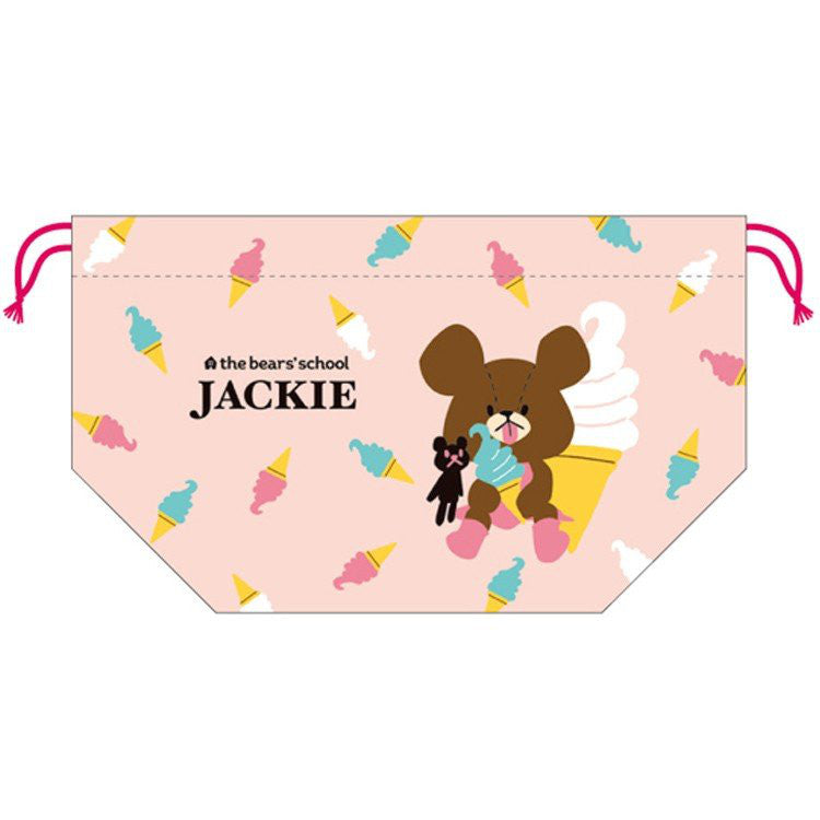 Jackie Drawstring Lunch Bag 808329 Pink the bears' school Japan