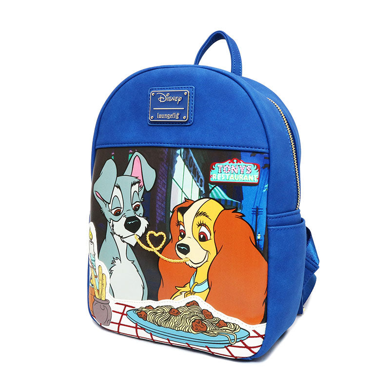 Lady And The Tramp Backpack Loungefly Disney Store Japan Verygoods Jp