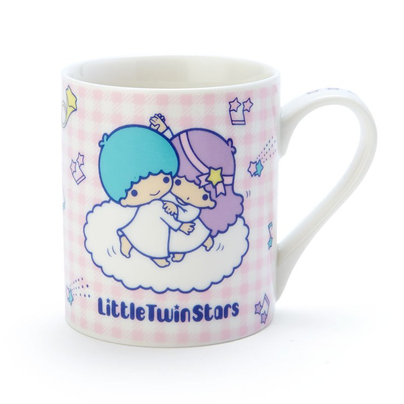 Little Twin Stars Kiki Lala Mug Cup Dance Sanrio Japan
