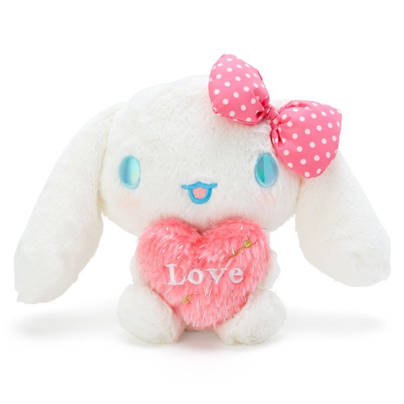 Cinnamoroll Plush Doll Heart Cupid Sanrio Japan Valentine's Day