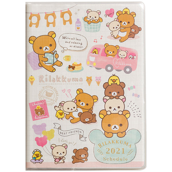 Rilakkuma 2021 Schedule Book B6 Monthly B San-X Japan