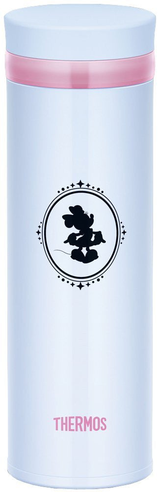 Disney Minnie Stainless Bottle Tumbler 350ml White Thermos Japan JNO-350DS-LB