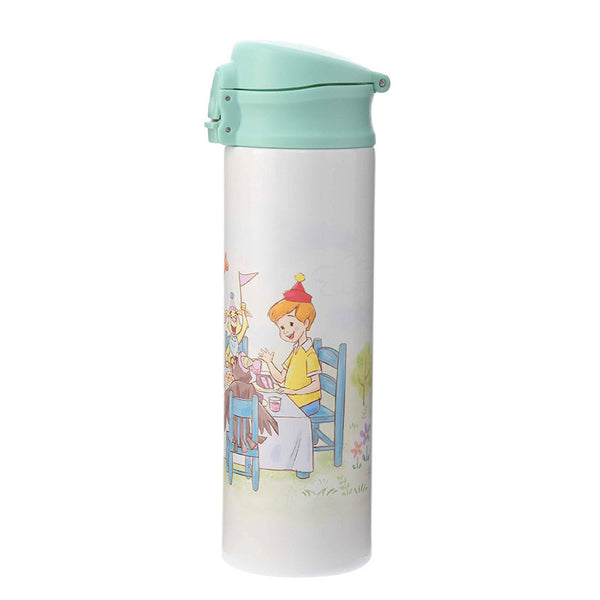 Winnie the Pooh & Friends Stainless Bottle Tumbler Pooh's Day Disney Store Japan