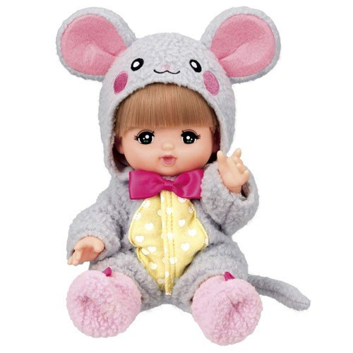 Mell Chan Pretend Play Doll Set Pilot Japan New Year 2020 Zodiac Rat