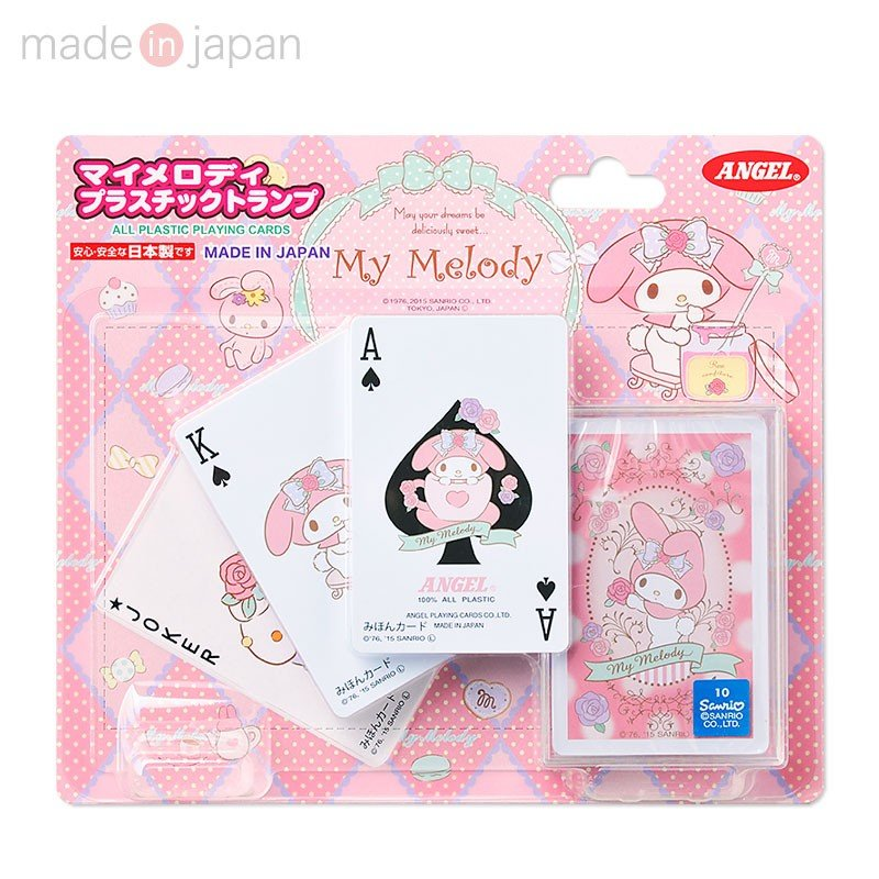 My Melody Playing Cards Sanrio Japan