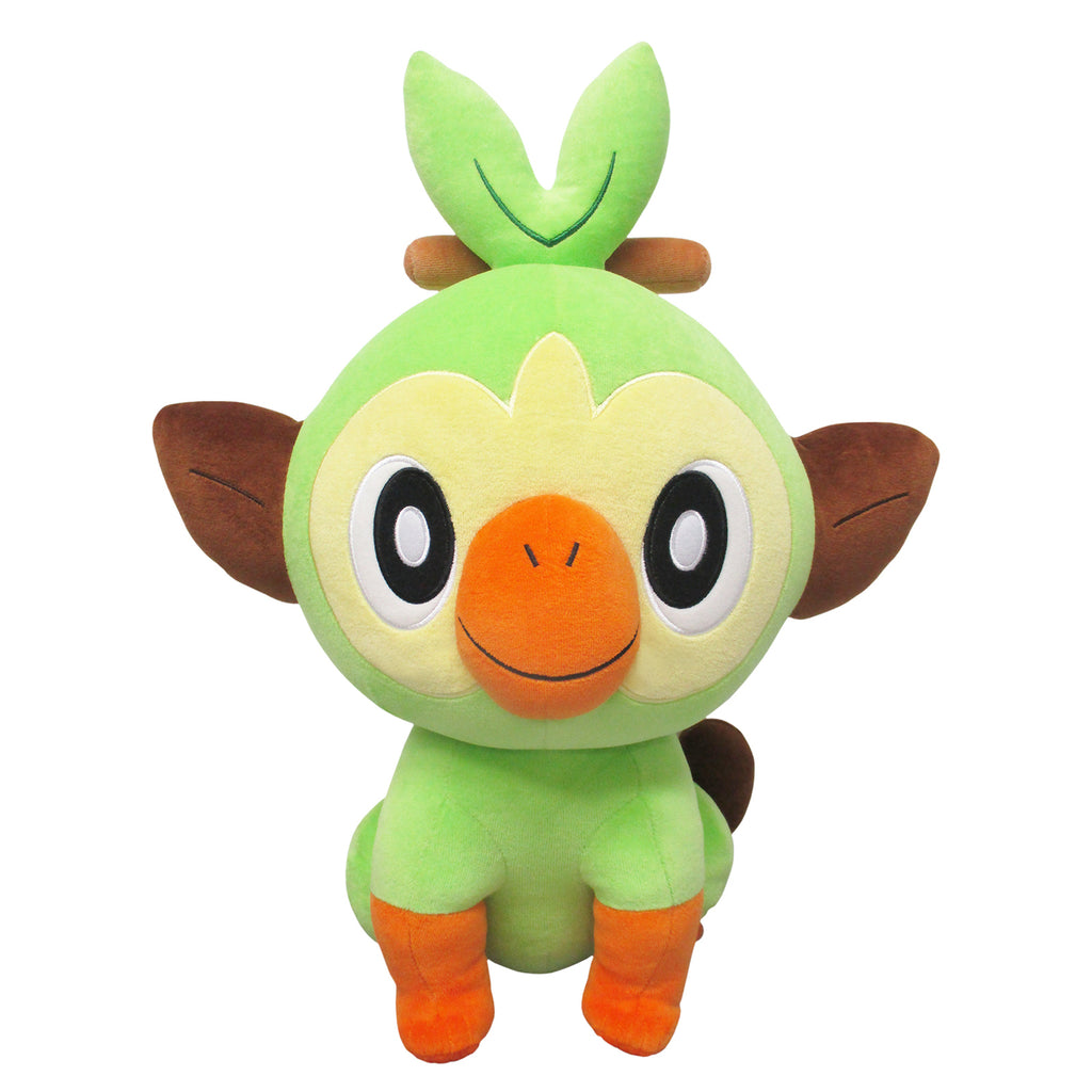 Grookey Sarunori Fluffy Soft Cushion Big Plush Pokemon Star Pokemon Center Japan
