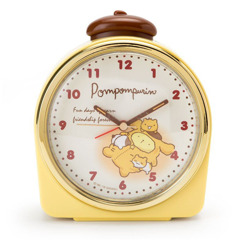 Pom Pom Purin Alarm Clock Stay Up Late Sanrio Japan