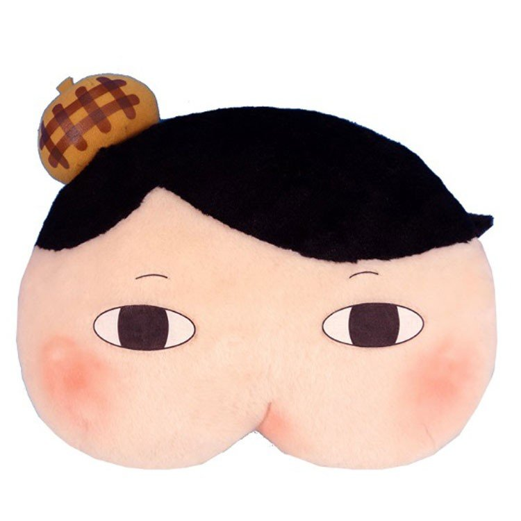 Oshiritantei Butt Detective Cushion Face Japan 4974475760539